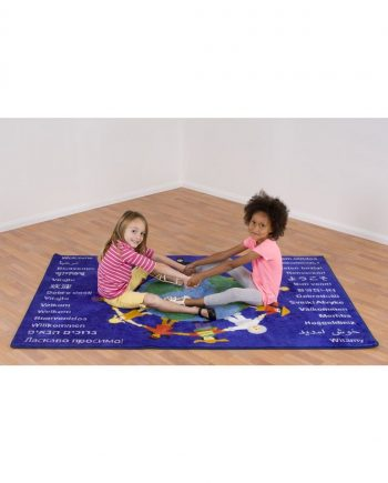 Children of the World Welcome Carpet 1