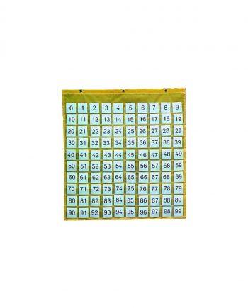 100 Pocket Squares Chart