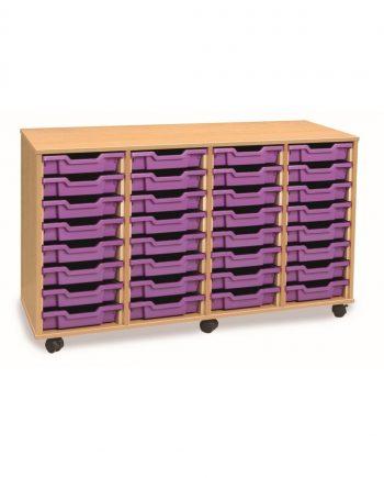 4 Store Tray Units