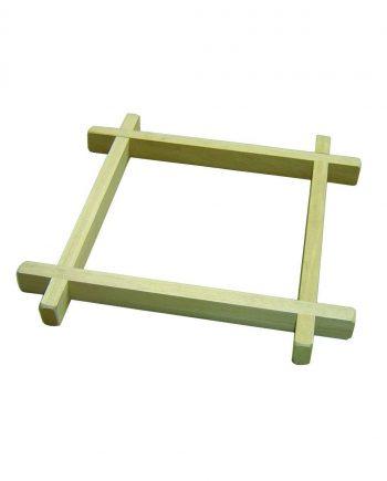 Wooden Batik Frame