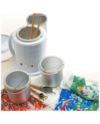 Batik Wax Pot