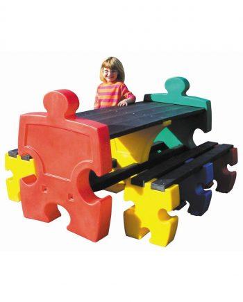Jigsaw Bench