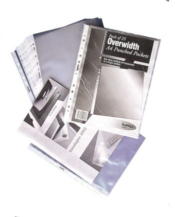 A4 Oversized Punched Pockets