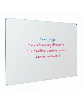 Write-on® Colour Edged Drywipe Whiteboards