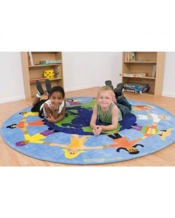 Children of the World Multi - Cultural Carpet
