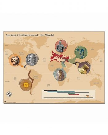 Ancient Civilisations of the World Map