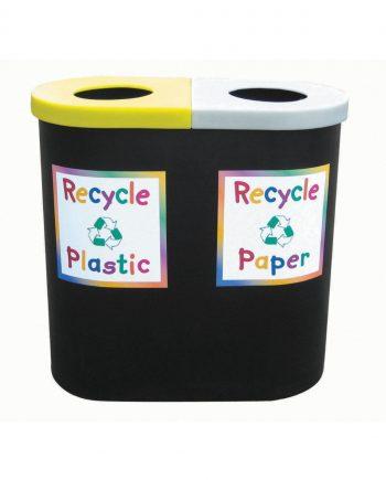 Twin Recycling Bin