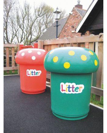 Mushroom Litter Bin 1