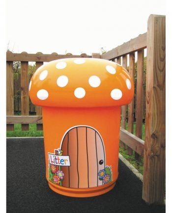 Mushroom Litter Bin 2