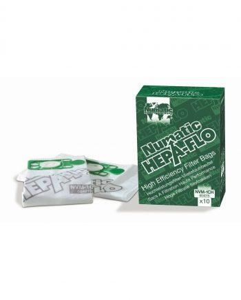 10 X (Nvm-1ch) Hepaflo Dust Bags