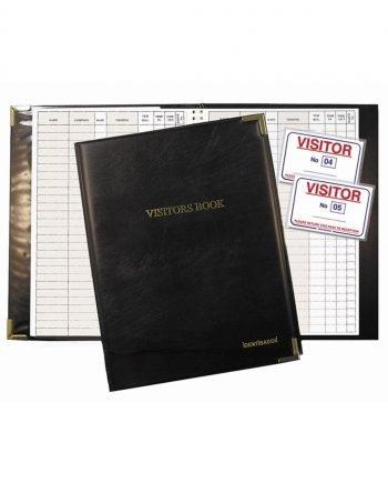 Visitor Line Entry Book