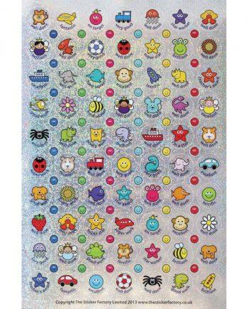 Sparkly Reward Stickers 24mm/10mm