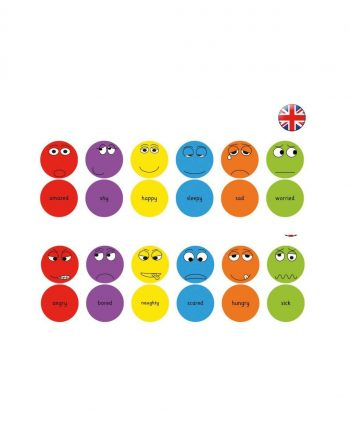 English Emotions cushions