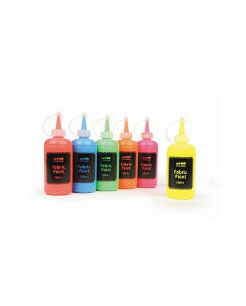 Fluorescent & UV Glow Fabric Paint