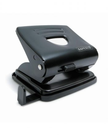 825 (2 hole) Metal Punch Black