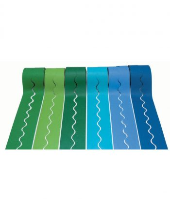 Bulletin Border Assorted Cool Colours