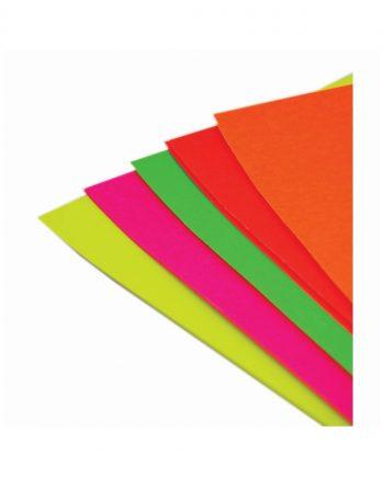 Fluorescent A4 Card