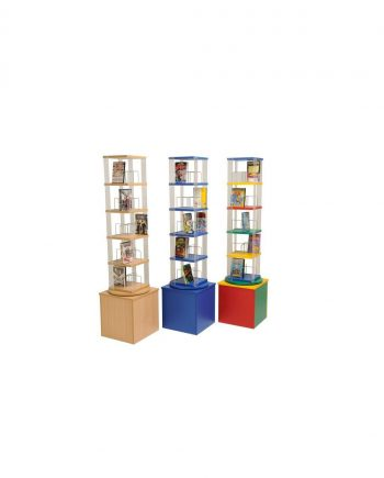Paperback/Video/DVD Spinner (5 Tier)