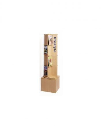 Periodical Display Spinner With Graphics Panel
