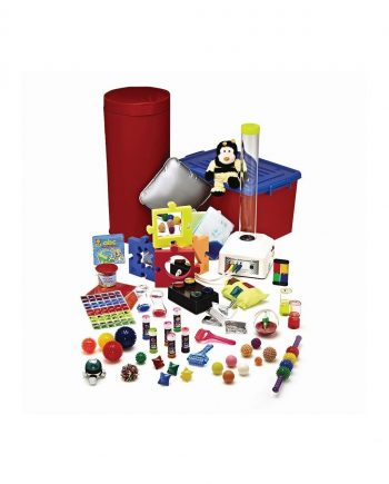 Bubble tube sensory in a box kit