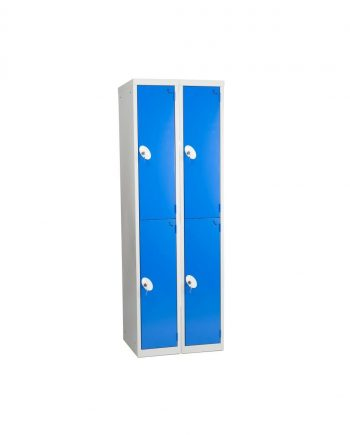 2 Tier 2 Nest Half Size Lockers