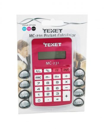 Texet MC-231 Digit Pocket Calculator