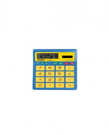 Texet 8 Digit Dual Power Desktop Calculator SL-200