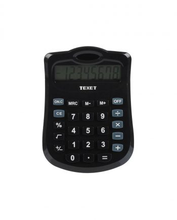 Texet 8 Digit Dual Power Desktop Calculator DV-8