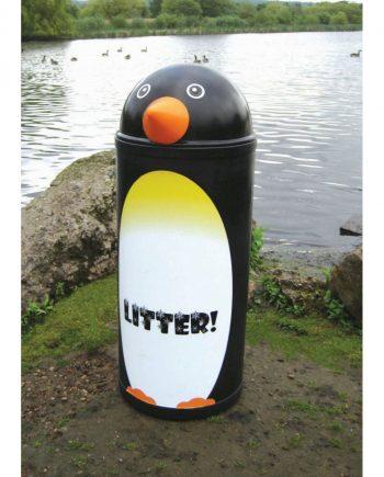 Penguin Litter Bin