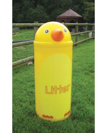 Chicken Litter Bin