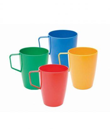 Polycarbonate handled beaker