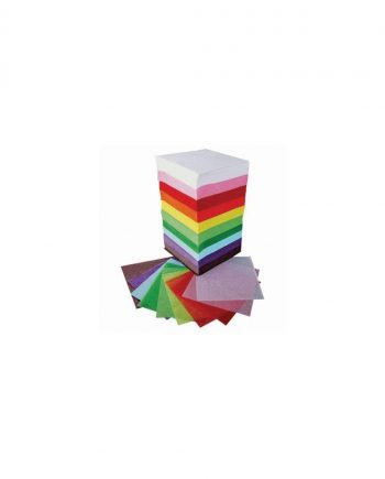 Tissue Paper Square Tower