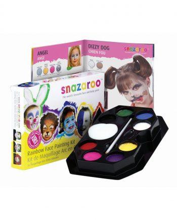 Snazaroo Rainbow Face Painting Kit