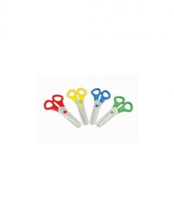 All plastic safety scissors