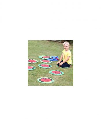 Back to nature counting ladybird outdoor play with free holdall