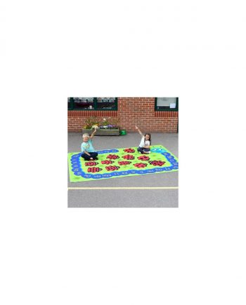 Back to nature chloe caterpillar numeracy & literacy outdoor play mat