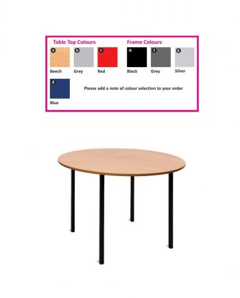 Non-Stacking Round Tables