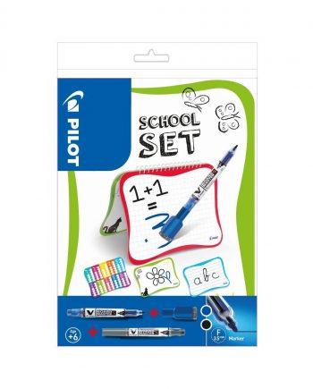 V Board Master Slim School Whiteboard and Marker Set