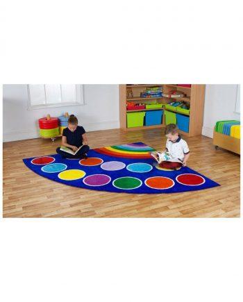 Rainbow Corner Carpet