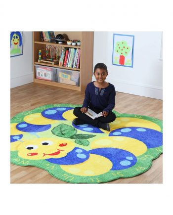 Back to Nature Giant Alphabet Caterpillar Carpet