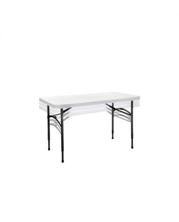 Compact Height Adjustable Folding Table