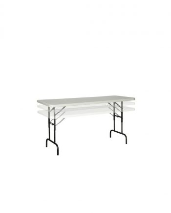 Large Height Adjustable Folding Table