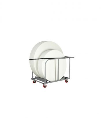 Round Folding Table Trolley