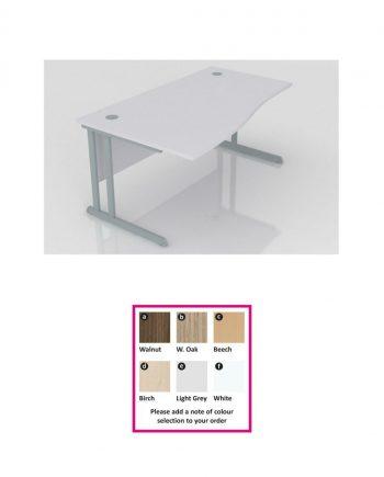 Cantilever Wave Desk