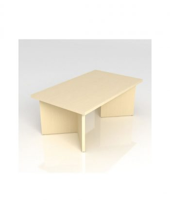 Rectangular Coffee Table- Panel Legs