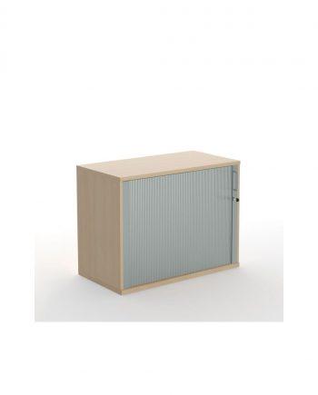 Tambour Door Cupboard Unit