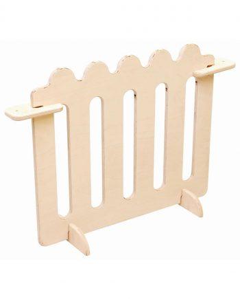 Kindergarten corner fence