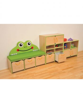 Nature storage set- green frog