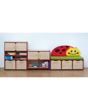 Nature sorage set red ladybird