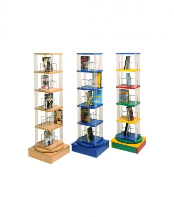 Junior paper back/ dvd spinner 5 tier